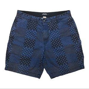 Chaps Ralph Lauren, Patchwork Shorts